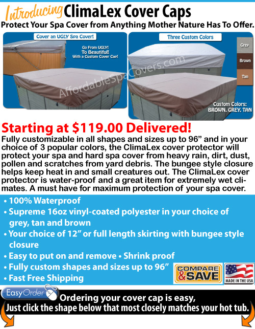 America's # 1 Hot Tub and Spa Cover Mfg