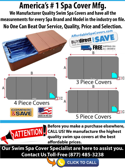 America's # 1 Hot Tub, Spa and Swim Spa Cover MFG